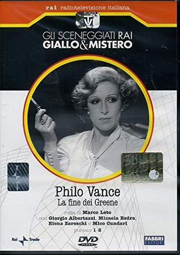 Philo Vance - La fine di Greene - Gli sceneggiati Rai Giallo e Mistero - Fabbri Editori
