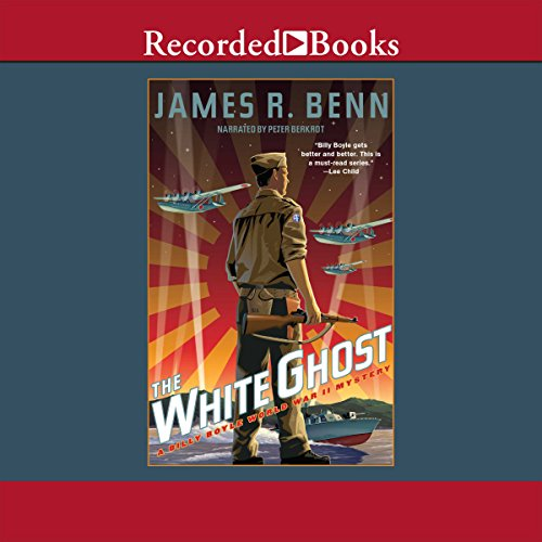 The White Ghost Audiobook By James R. Benn cover art