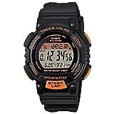 [カシオ] 腕時計 スポーツギア LAP MEMORY 120 ソーラー STL-S300H-1BJF ブラック