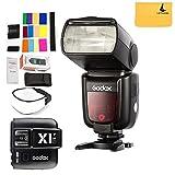 GODOX TT685F HSS 2.4G TTL GN60 Kamerablitz Speedlite High-Speed Sync Extern TTL Für Fujifilm Kamera X-Pro2 X-T20 X-T1 X-T2 X-Pro1 X100F + GODOX X1T-F Flash Trigger Sender für Fuji DSLR Kameras