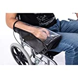 QEES funda para palanca de cambios para silla de ruedas, impermeable, cubierta protectora para control de silla de ruedas eléctrica, mantén seco JJZ161