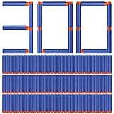 MGRETT Dardos para NERF, 300 pcs 7.2cm Flechas de Dardos para los Accesorios de NERF, Balas para NERF, Foafe de Relleno Compatible con la Serie NERF N-Strike Elite Series Nerf N Strike Elite Series