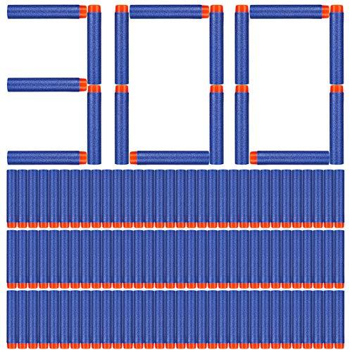 Darts für Nerf ,300 Stück 7.2cm Darts Pfeile für Nerf Zubehör,Bullets für Nerf ,Nachfüllschaumpfeile Kompatibel für Nerf N-Strike Elite Series Nerf N Strike Elite Series Blasters Spielzeugpistole.