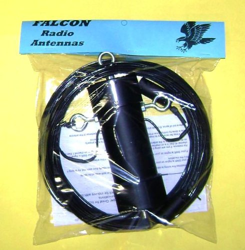 #1 Falcon 80-6 Meter Off Center Fed Dipole Amateur Ham Radio Antenna