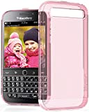 BlackBerry Classic / Q20 Case - VENA [vSkin] Slim Protection [1.0mm Thin] TPU Case Cover for BlackBerry Classic / Q20 (Transparent Pink)
