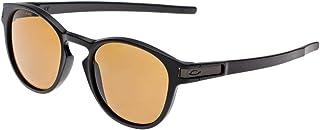 نظارات شمس اوكلي لاتيك OO9265-07 - بونز مستقطب مطلي بالاسود من اوكلي للرجال - 53-21-139 ملم