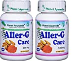 Planet Ayurveda Aller-G Care, 500mg Veg Capsules - 2 Bottles