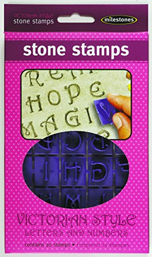 Midwest Products Victorian Letters and Numbers Stepping Stone Stamps