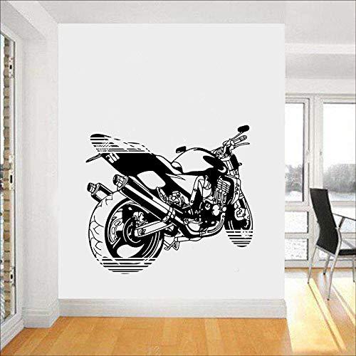 Motocross Wandtattoo Extrem Speed Sport Motorrad Vinyl Fenster Aufkleber Teenager Schlafzimmer Mann Höhle Garage Home Decor Wallpaper