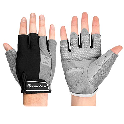 Seektop Gym Gloves Workout Gloves Weight Lifting Gloves for Men