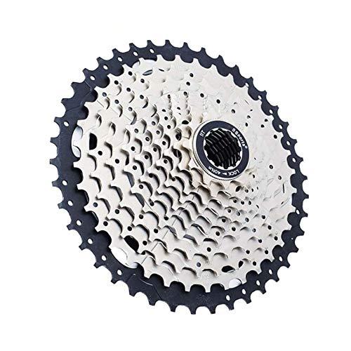 Lijincheng Ruedas Libres Cassette De Bicicleta MTB Sprocket Flywheel 11 Velocidad 11-42t Freewheel Bike Flywheel para Bicicleta De Montaña Compatible Shimano (Color : 11 Speed 11 42T K)