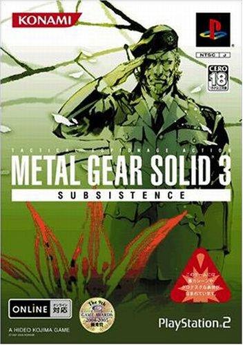 Metal Gear Solid 3 Subsistence[Import Japonais]