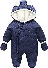 Kanodan Baby Boy Girl Down Jumpsuit Romper Winter Warm Romper Snowsuit Coats