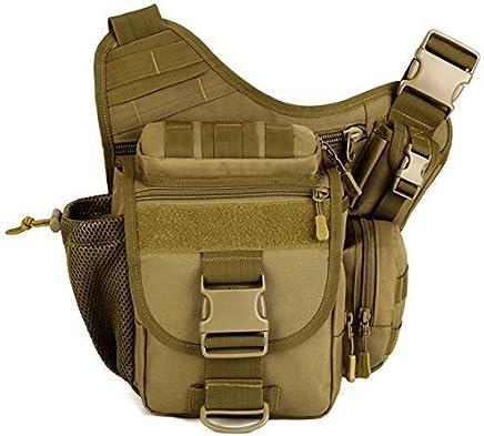 Aseun Fashion Nylon Multi-Functional Tactical SLR Camera Bag Versipack Backpack Bag Waterproof Military Bags Messenger Molle Bag