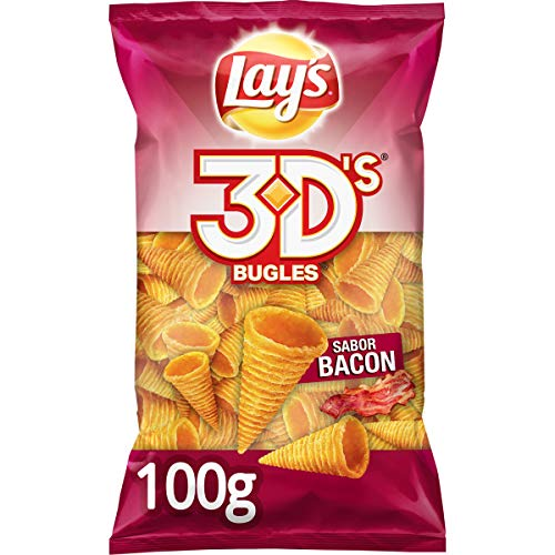 Lay'S Bugles 3D'S Bacón, 100g