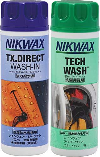 NIKWAX【ニクワックス】 NIKWAXセット Loft テックウォッシュ【EBE181】&TX ダイレクトウォッシュイン【EB...