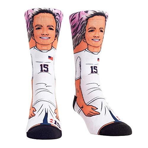 USA Women's National Soccer Team USWNT Player Socks (L/XL, Megan Rapinoe)