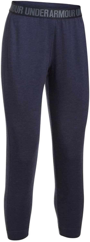 Women's Under Armour Featherweight Fleece Pant, Midnight Navy, XLS