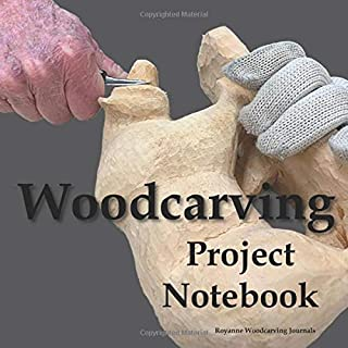 Woodcarving Project Notebook: Bear Cover - A Journal for 15 Wood Carving Projects - Each Project has 7 Pages to Document Wood, Tools, Carving and Painting Techniques, Notes and Competition Entry