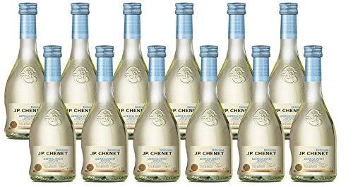 JP Chenet Vino Blanco - Pack de 12 Botellas de 0.25 l - Total: 3 l