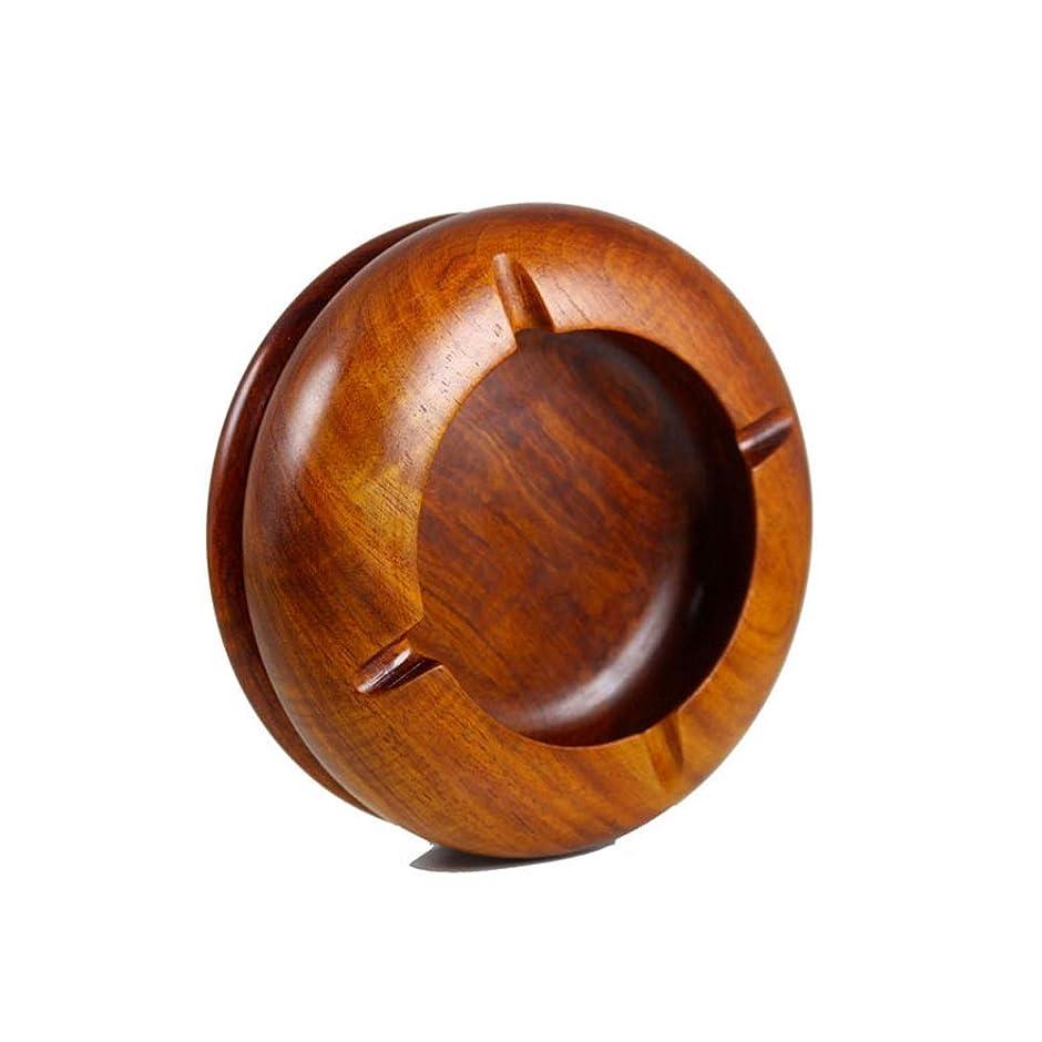 損傷注意オーストラリア人円形の元の木のタバコの灰皿屋外および屋内灰皿