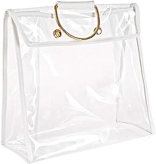 NANAD Handtaschen-Aufbewahrung, durchsichtig, staubdicht, zum Aufhängen, Schrank-Organizer, Geldbörse, Damen, transparent (A)