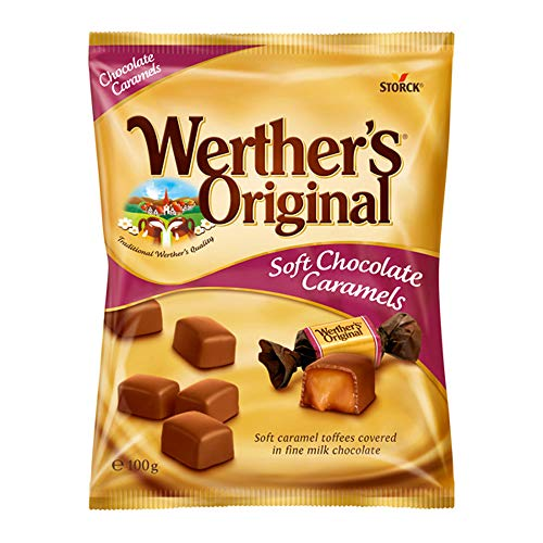 ストーク ヴェルタース オリジナル チョコトフィー 100g×3袋