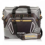 Engel HD30 Waterproof Soft-Sided Cooler Bag - Grey/Orange