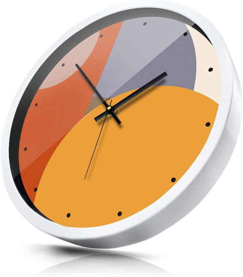 Wall Clock WGZ- Creative Bedroom Mute Room Modern Silent Living Very popular Popular brand in the world