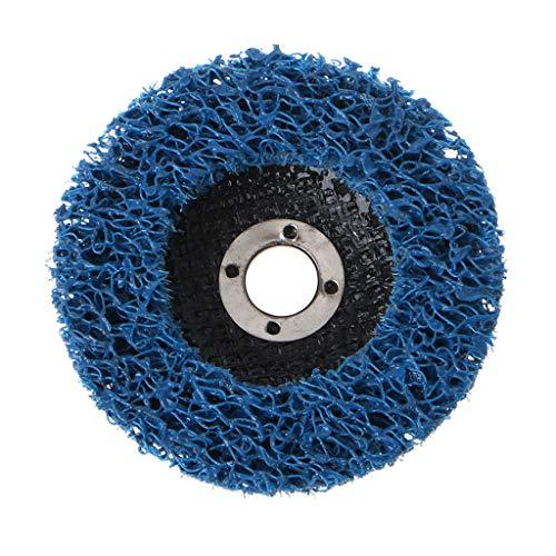 Hothap 125mm Poly Strip Disc slijpschijf lakrooster verwijderaar schuurschijven voor haakse slijpers blauw