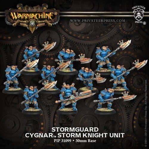 Stormguard Storm Knight Unit (10) Miniatures by Privateer Press Miniatures