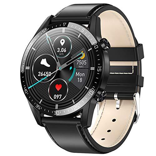 LJMG Smartwatch, Música Electrónica, Reloj Inteligente G5 Bluetooth, ECG, Podómetro, Reloj Inteligente para Android iOS PK L13 DT95,C