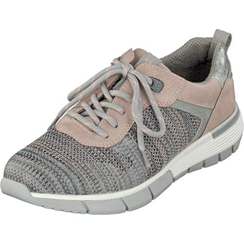 Relife Damen Schuhe Sneaker Halbschuhe 9067-18803-02 in 2 Farben (38 EU, Rose)