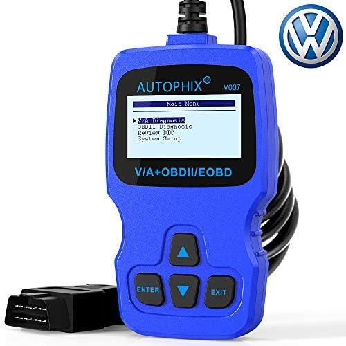 V007 OBD2 Scanner for Volkswagen VW Audi Skoda Seat with Engine ABS Airbag Transmission Erase product image