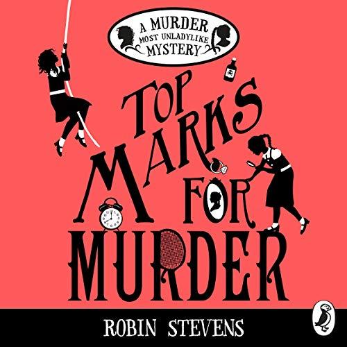Top Marks for Murder audiobook cover art