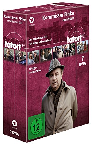Tatort - Kommissar Finke ermittelt in Kiel (Komplettbox) (7 DVDs)