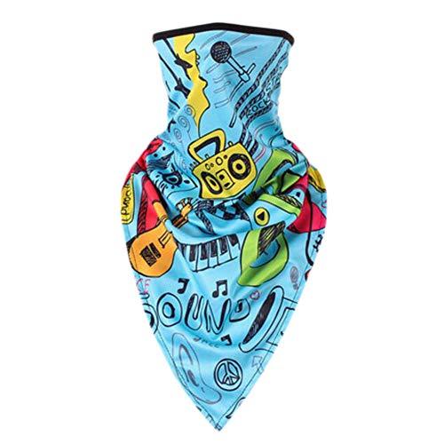 Crème solaire bandanas foulard masque masque extérieur serre-tête serre-tête serre-tête-A17
