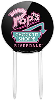 GRAPHICS & MORE Acrylic Riverdale Pops Chock'lit Shoppe Cake Topper Party Decoration for Wedding Anniversary Birthday Graduation