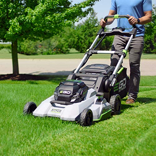 EGO Power+ LM2130SP 21-Inch 56-Volt Cordless Select Cut Mower with Touch Drive Self-Propelled Technology Battery and Charger Not Included