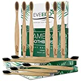 48 Count (4 Boxes of 12) Bamboo Toothbrush I Soft Bristles Best for Sensitive Gums I Charcoal I Vegan I Natural Wood I BPA Fee I Recyclable I Compostable I Biodegradable   Environmentally Friendly