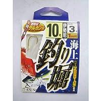 ささめ針(SASAME) 海上釣り堀(伊勢尼) 金 鈎13/ハリス7 T-470