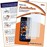 mumbi Schutzfolie kompatibel mit Google Pixel 3a XL Folie matt, Bildschirmschutzfolie (2X)