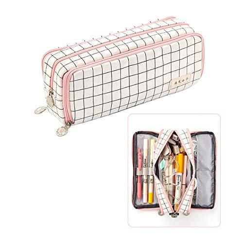 iSuperb Estuche de lápices Gran Multifuncional Pencil Case estuche de papelería para niñas Estudiante Plumier Lápices Bolsa