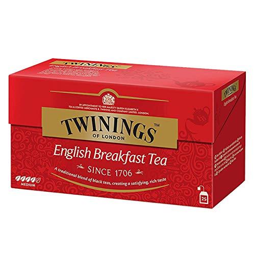 Twinings - Té English Breakfast, 25 bolsitos