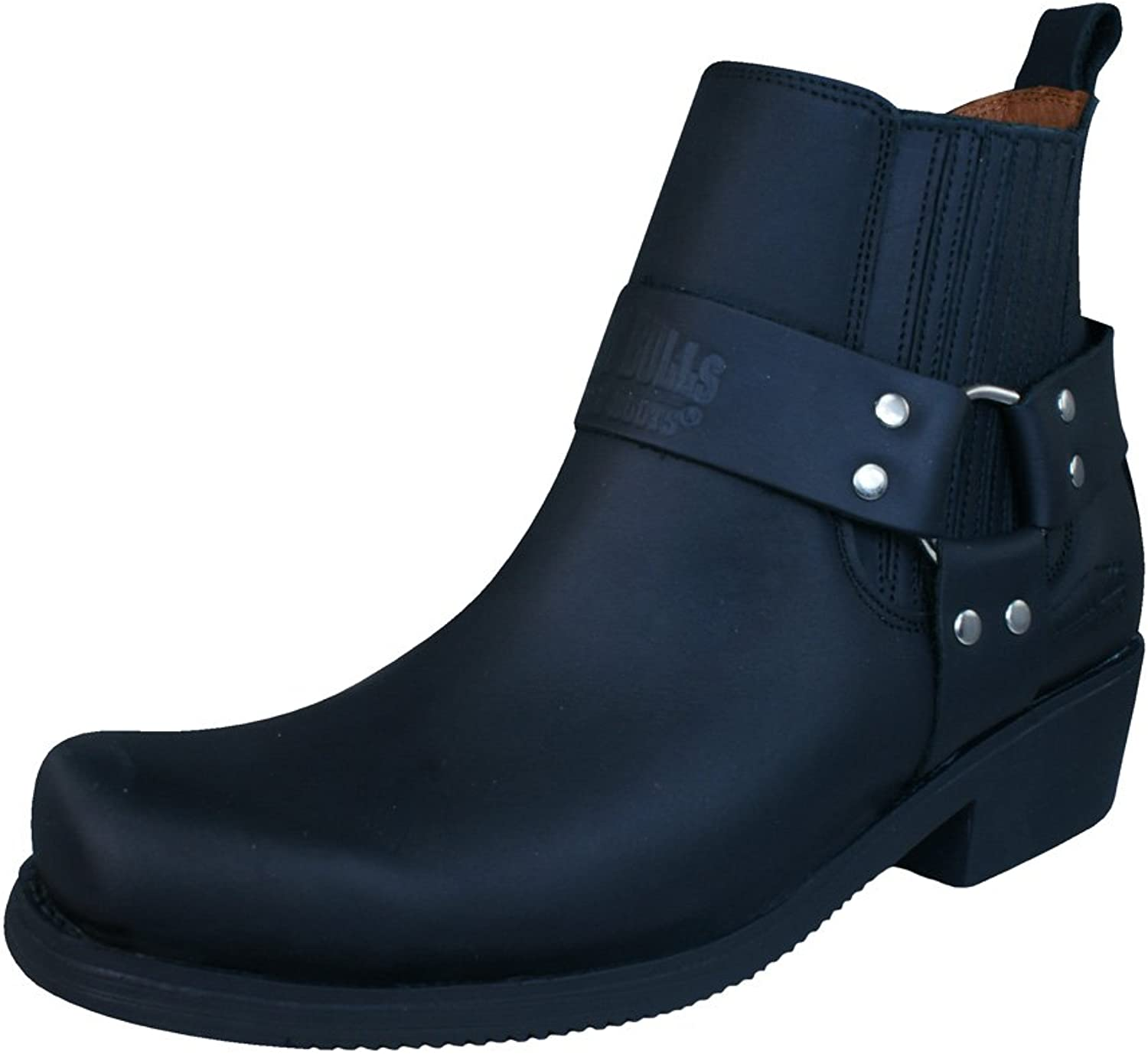 Johnny Bulls Sprinter Womens Leather Chelsea Ankle Boots