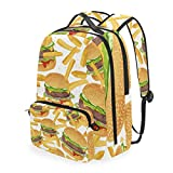 Montoj - Bolsa de viaje para hamburguesa de carne de vacuno con bolsa cruzada