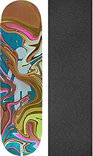 Girl Skateboards Mike Mo Capaldi Oil Slick Skateboard Deck - 8.12