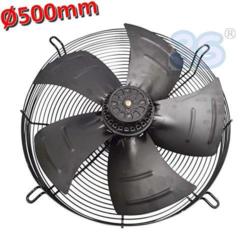 Ventilatore assiale aspirante ø 500 mm 420 W 220 V - con motore e griglia