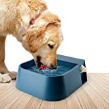 PETLESO Dog Automatic Waterer Bowl, Automatic Water Bowl Auto-Fill Outdoor for Dogs Cats Birds Goats Small Animals, Blue 2L