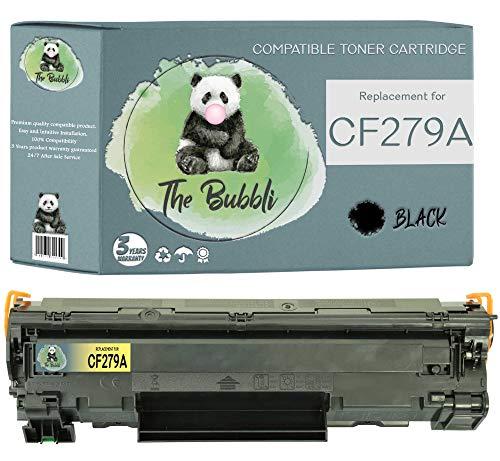 The Bubbli Original   CF279A 79A Tóner Compatible para HP Laserjet Pro M12 M12w MFP M26nw M12a MFP M26a (1 Negro)